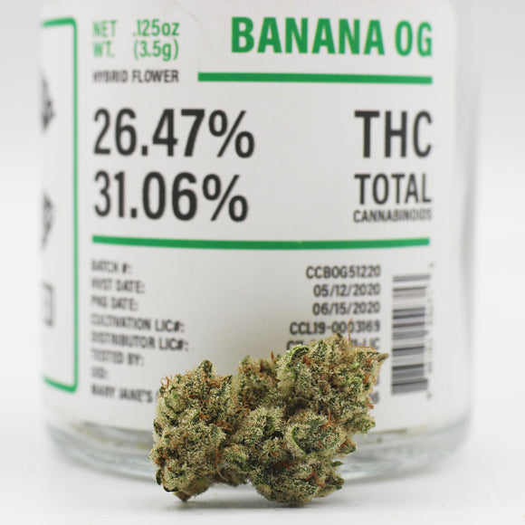 Banana OG (i) - Crafted (26% THC)