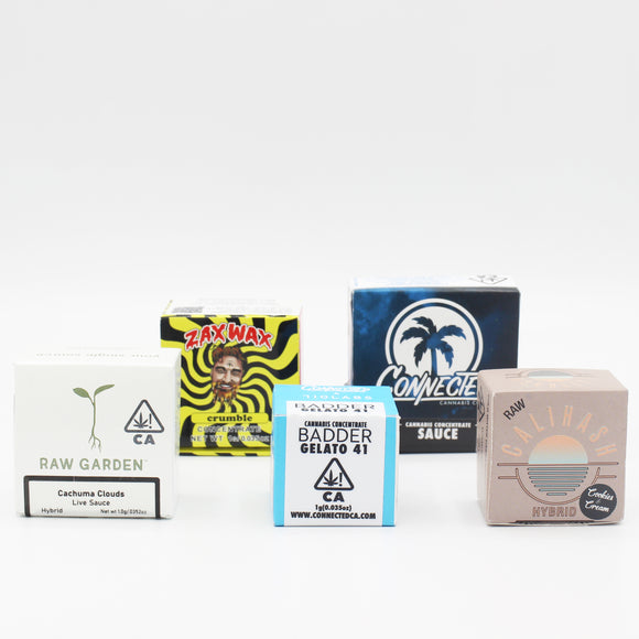 4x Concentrates Pack - Pick any 4 From the Menu