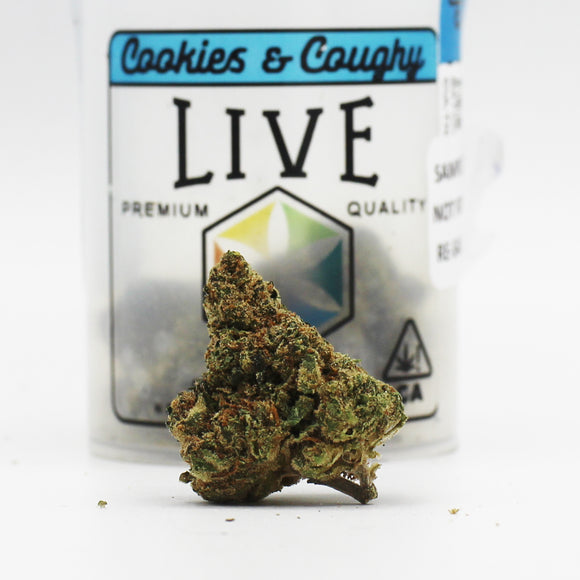 Cookies & Coughy (I/h) - Live Cannabis (21% THC)