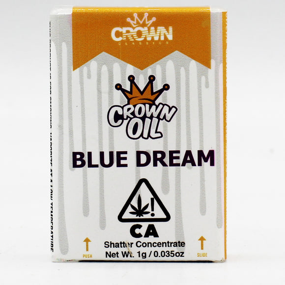 Blue Dream (s) - Crown Oil - 1g Shatter (73% THC)