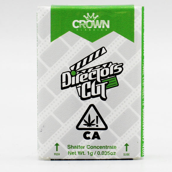 Director's Cut (i) - Crown Oil - 1g Shatter (68% THC)