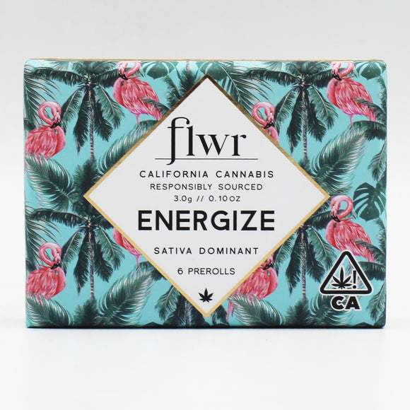 Energize (s/h) - FLWR - (Blood Orange) - (Preroll 6 pack)