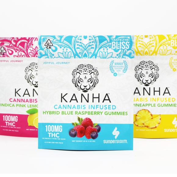 Kanha Cannabis Infused Gummies