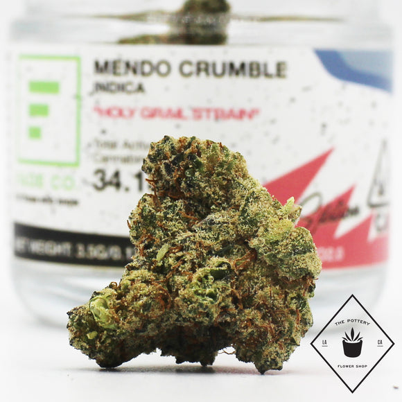 Mendo Crumble - (i) - Fade Co. Holy Grail Strain. (28% THC)