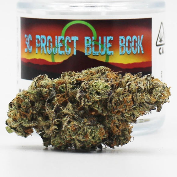 Project Blue Book (s/h) - 3C Farms - (26% THC)