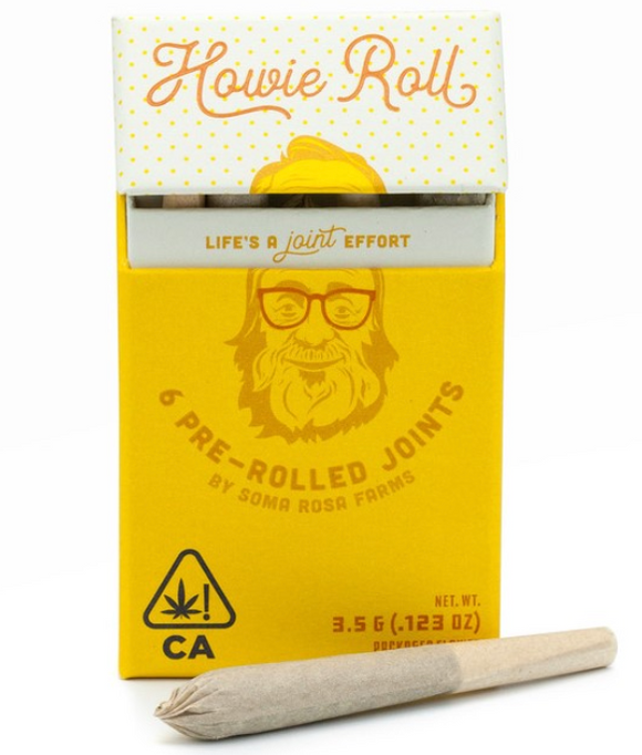 Soma Rosa Farms - Howie Roll Preroll Pack (6 pack)
