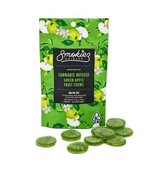 Smokiez - Green Apple Fruit Chews