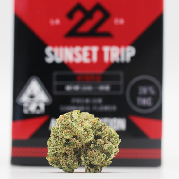 Sunset Trip (h) - 22Red (28% THC)