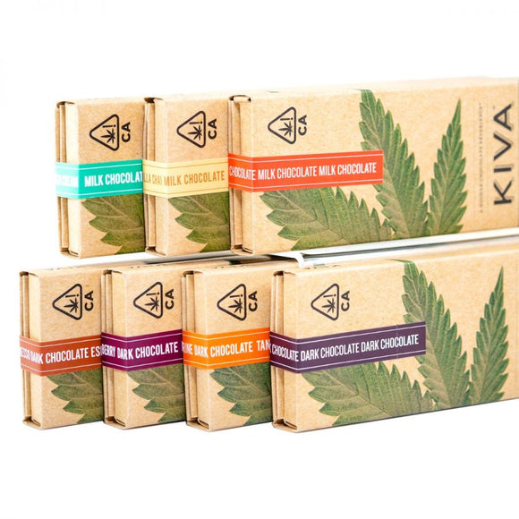 Kiva Chocolate Bars - 100mg edible