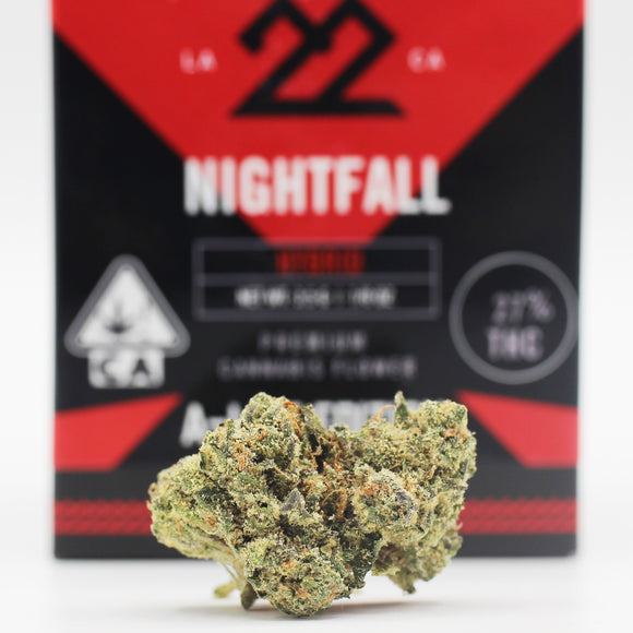 Nightfall (i/h) - 22Red (27% THC)