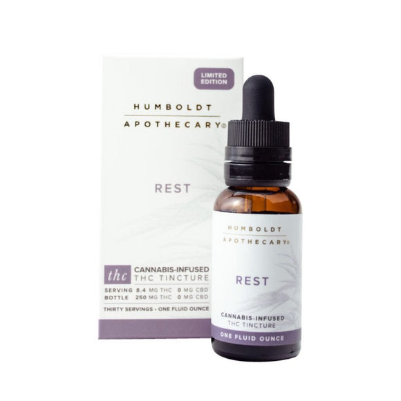 Rest THC Tincture - Humboldt Apothecary