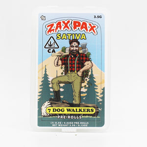 Car Crash (s) 7ct Pre-roll Pack - Zax Pax