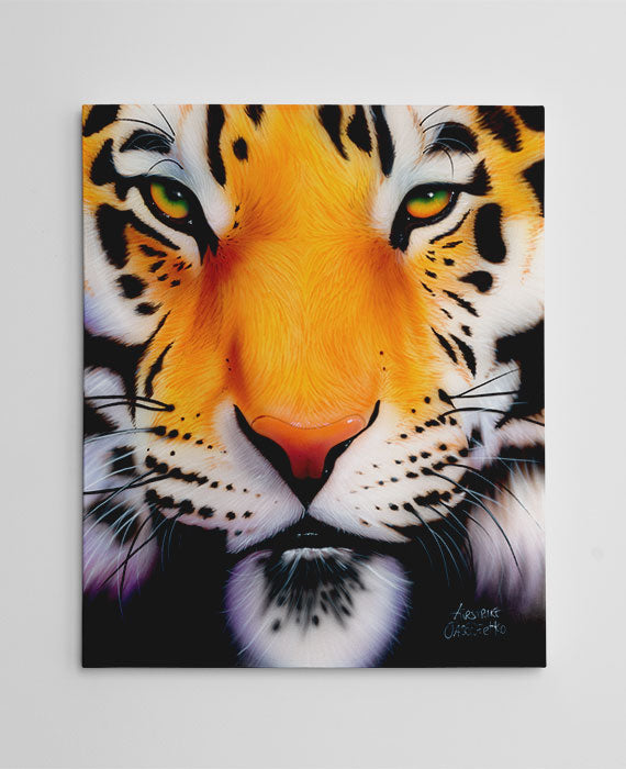 "Tiger Painting Canvas - ""Bengal Tiger"" by Jason Fetko"