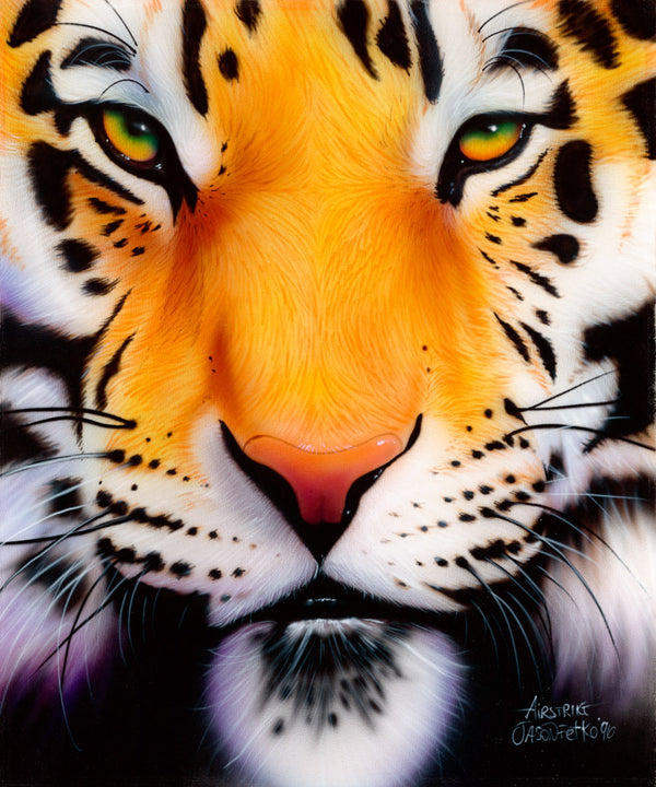"Tiger Painting - ""Bengal Tiger"" by Jason Fetko"