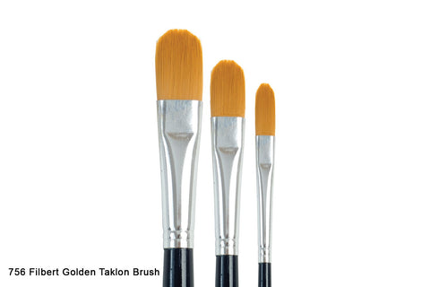 757 Golden Taklon Filbert Brush${variant_titlescreen-shopping.myshopify.com