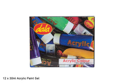 Acrylic Paint Box Kit 12 x 30ml${variant_titlescreen-shopping.myshopify.com