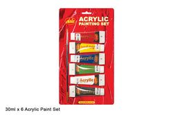 Acrylic Paint Set  - 6 x 30ml Blister${variant_titlescreen-shopping.myshopify.com