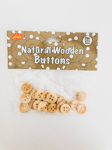 Wood Buttons 20 PCS${variant_titlescreen-shopping.myshopify.com