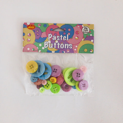 Pastel Buttons 20G${variant_titlescreen-shopping.myshopify.com