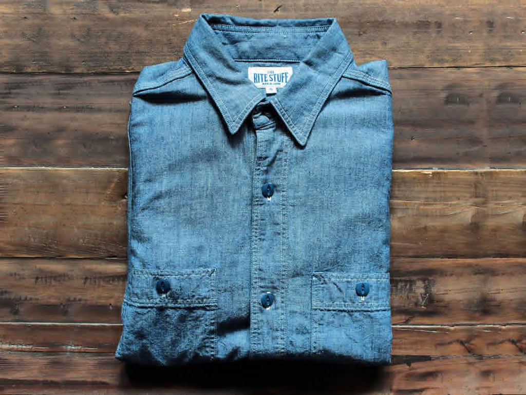 Chambray: The Most Universal Shirt Fabric