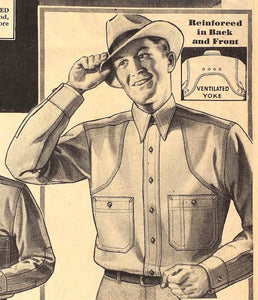 A Brief History of the Work Shirt - 1930-1940