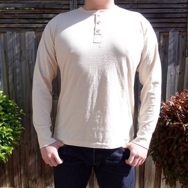 *SALE* The Rite Stuff - Harvester Ecru Long-Sleeve Henley
