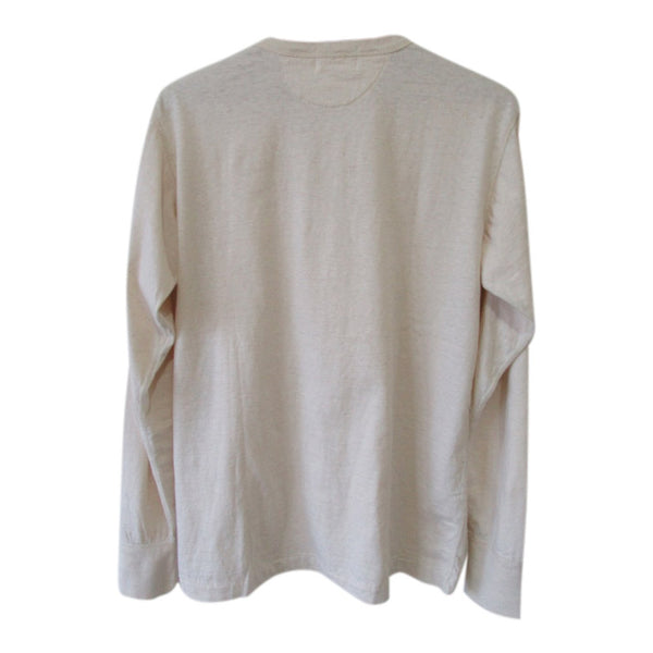 [The Rite Stuff] Harvester Ecru Long-Sleeve Henley