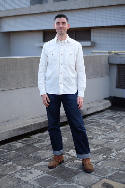[The Rite Stuff] Heracles Work Shirt (Ecru)