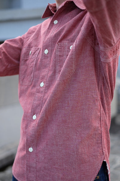 [The Rite Stuff] Heracles Work Shirt - Red (Pre-order for April 2020)