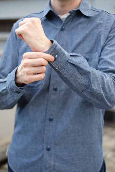 [The Rite Stuff] Heracles Work Shirt (Indigo)
