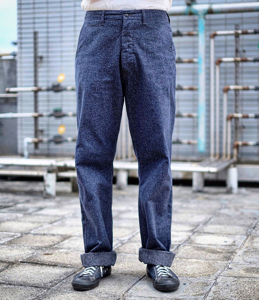 {Pre-order for Nov. 2020} The Rite Stuff - Daybreak Salt & Pepper Work Pants (Navy)