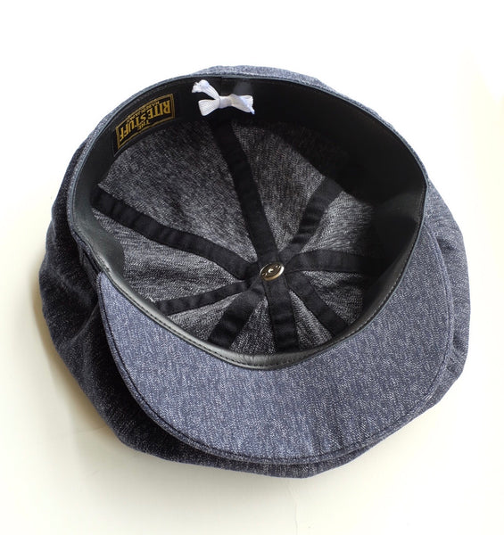 [The Rite Stuff] - Waverly 8-panel Cap (Navy) {Pre-order for August 2020}