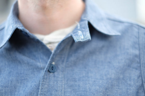 [The Rite Stuff] Heracles Work Shirt - Indigo (Pre-order for April 2020)