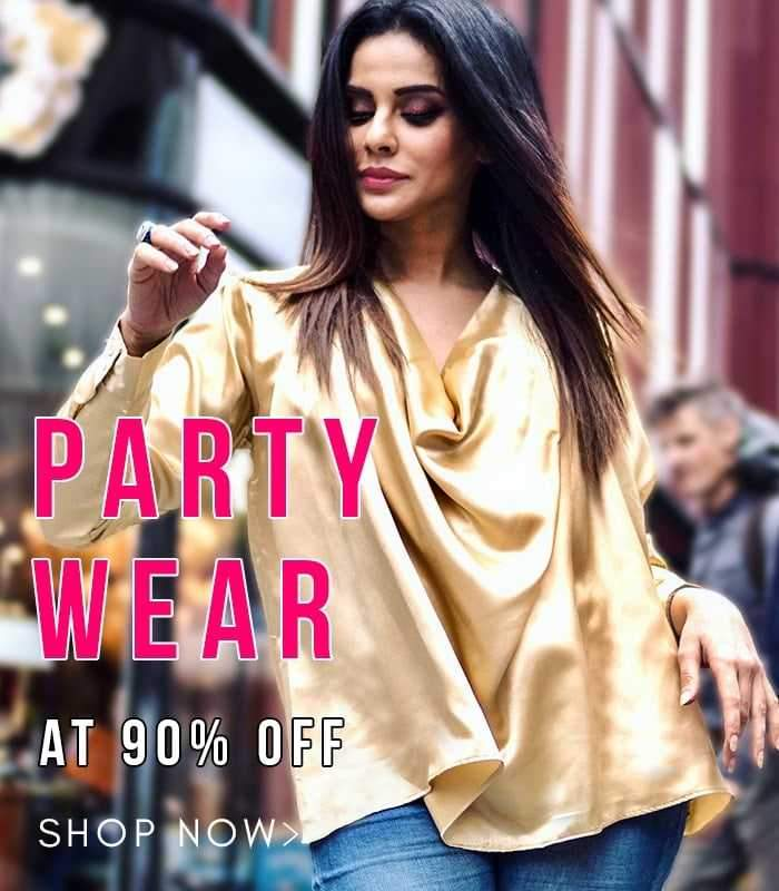 party, Offer, Women's Apparel, Online Shopping