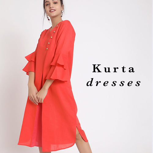 Kurti Dress, Indo Western, Women's Apparel, Online Shopping, Uptownie