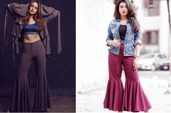 Sonakshi Sinha instagram flared pants Uptownie