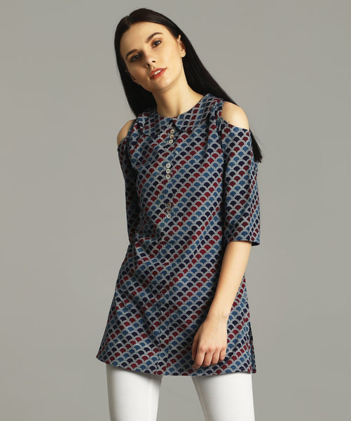 The Pay Attention To Me Tunic/Short Kurta (Cotton)