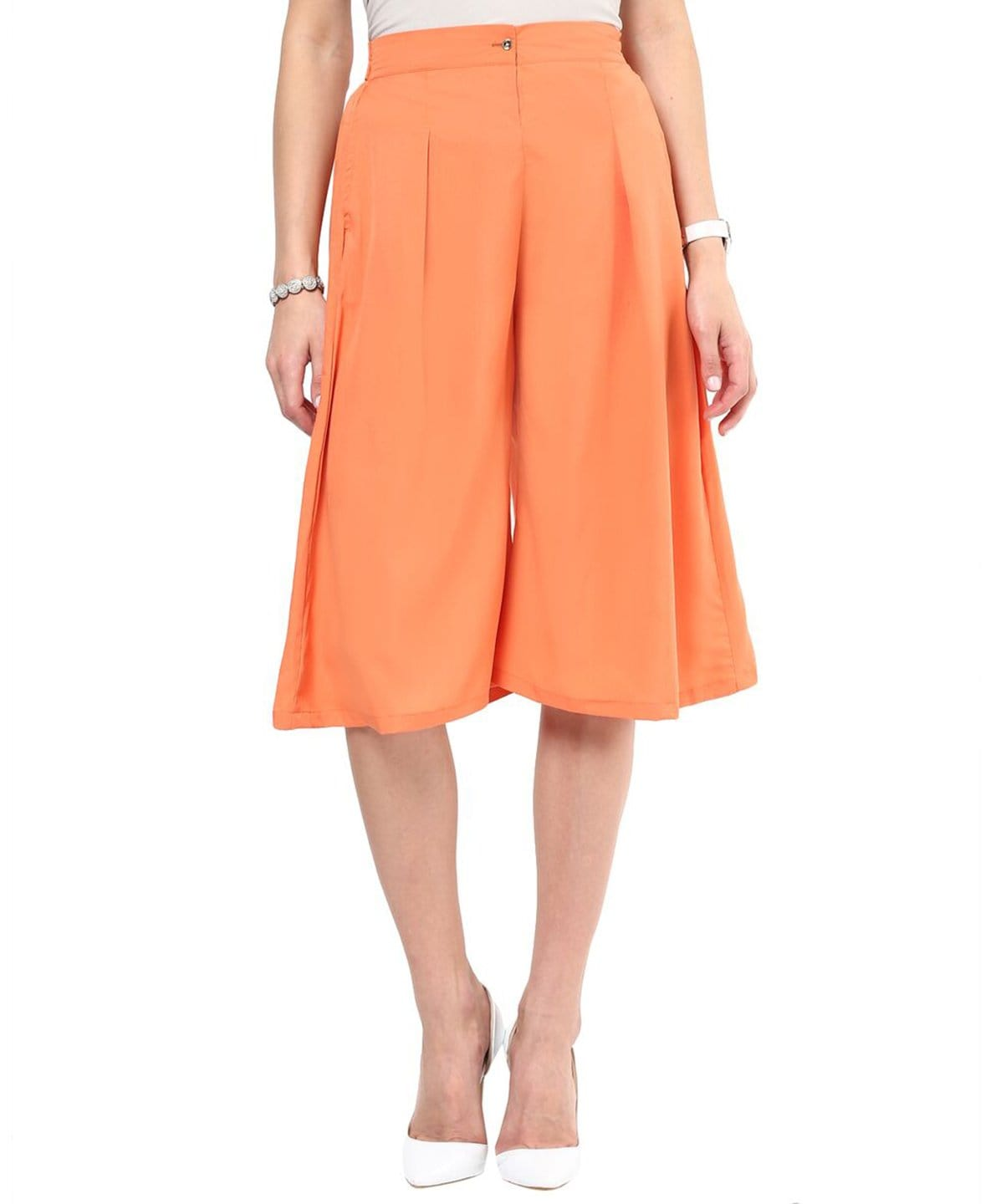 Uptownie Orange Adjustable Culottes 1 Clearance Sale