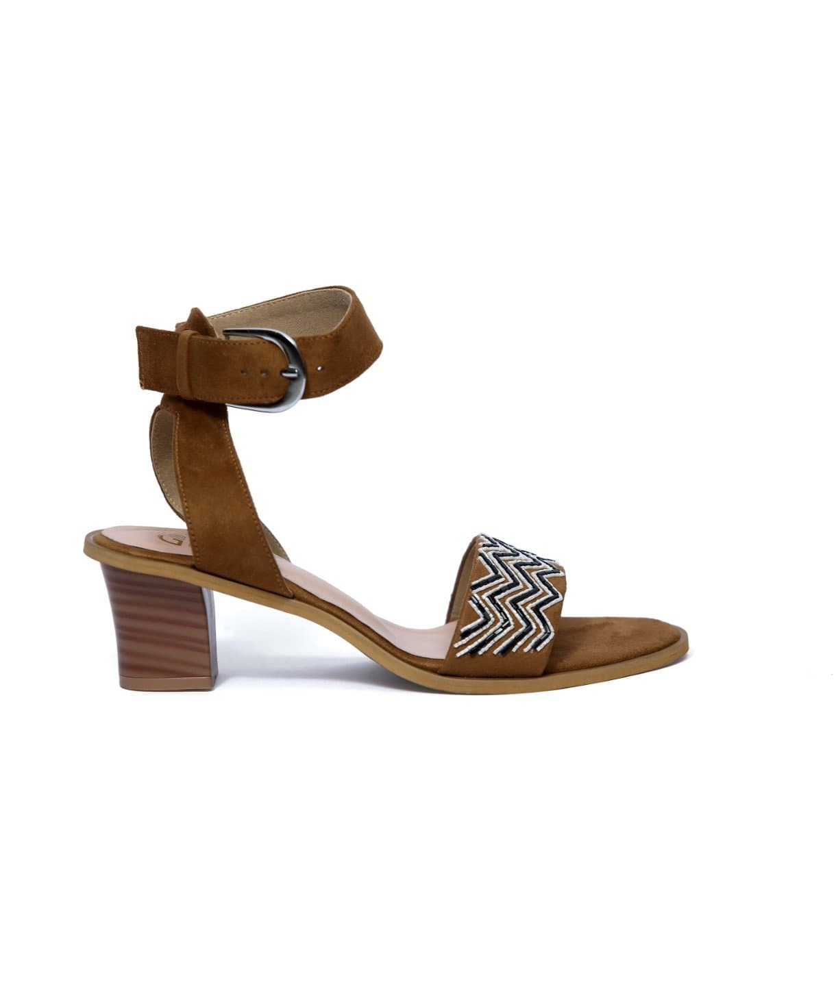 Block Heel Sandals - Uptownie