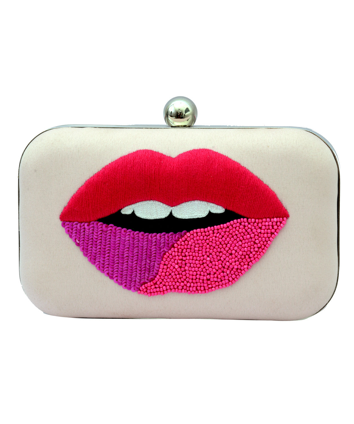 Uptownie X Parneet Bagga-Luscious Lips Box Clutch - Uptownie