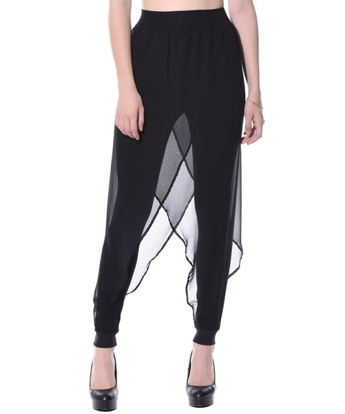 Uptownie The Noir Harem Pants 1 clearance sale