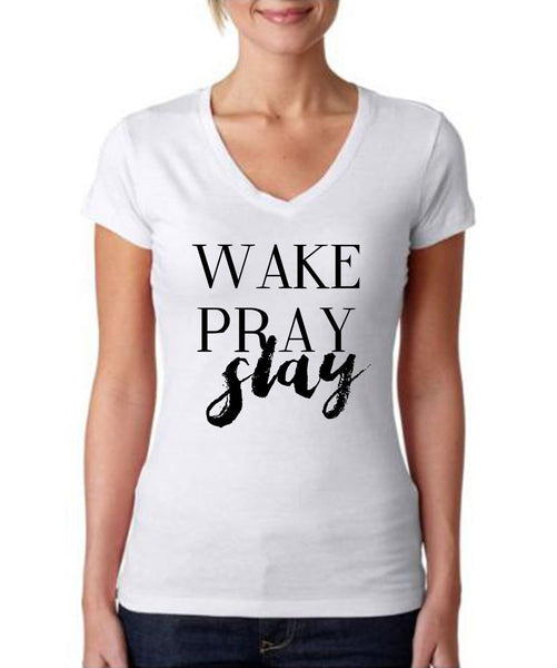 Wake Pray Slay (Cotton)