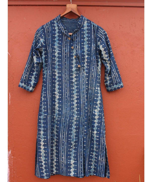 Indigo Blue Printed Tunic