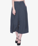 Uptownie Grey Solid Half Adjustable Culottes 1 clearance sale, BUY3GET2