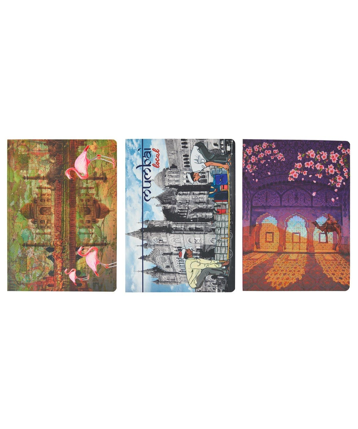 TMMLRAJ  Diary (set of 3) - Uptownie