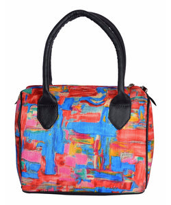 Uptownie X  Azzra Multicolor Casual Duffle Handbag for Women1
