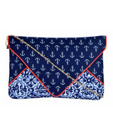 Uptownie X Azzra Blue Sailor Printed Sling