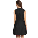 Uptownie Plus Black Box Pleat Dress