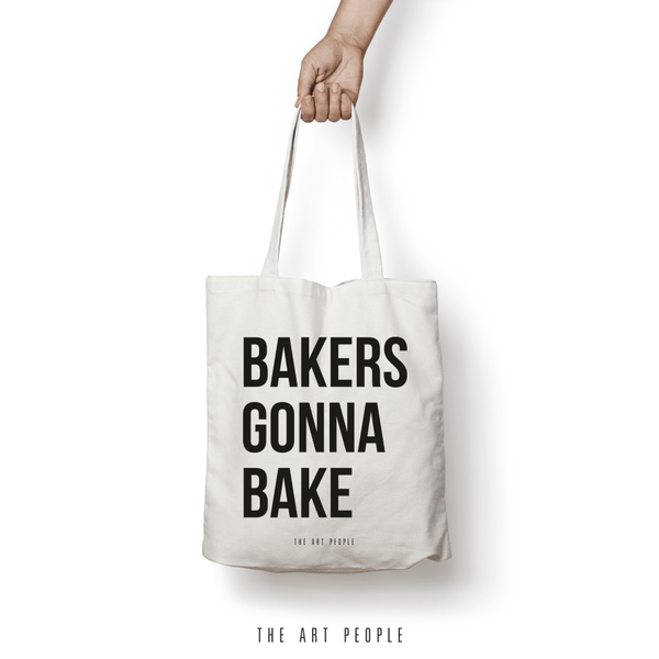 Bakers Gonna Bake Tote Bag. Uptownie.