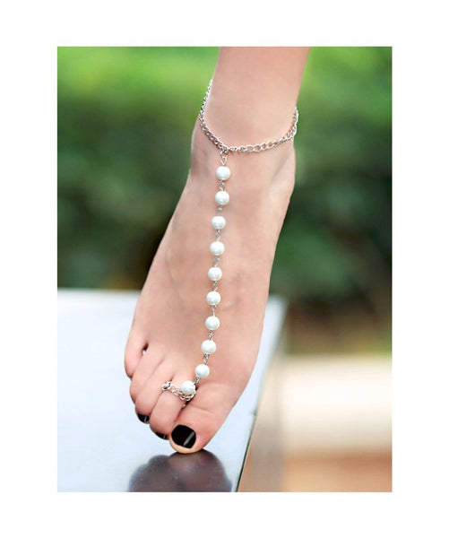 Beaded Anklet - Uptownie